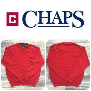 LIKE NEW CHAPS Men's Sweater Size L Orig $49!